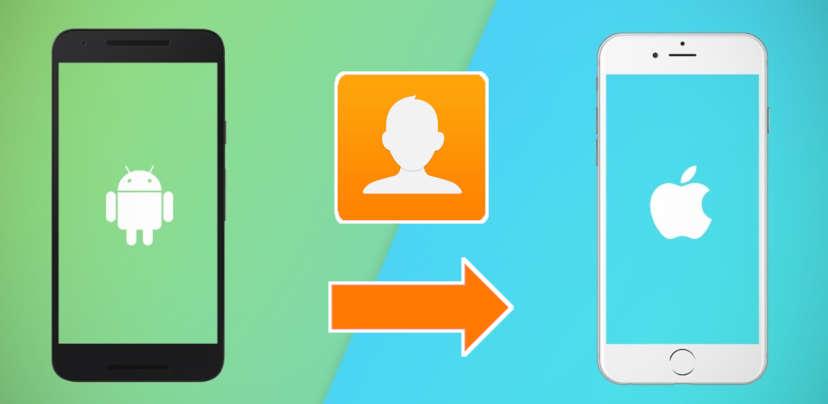 Overzetten contacten van samsung naar iphone