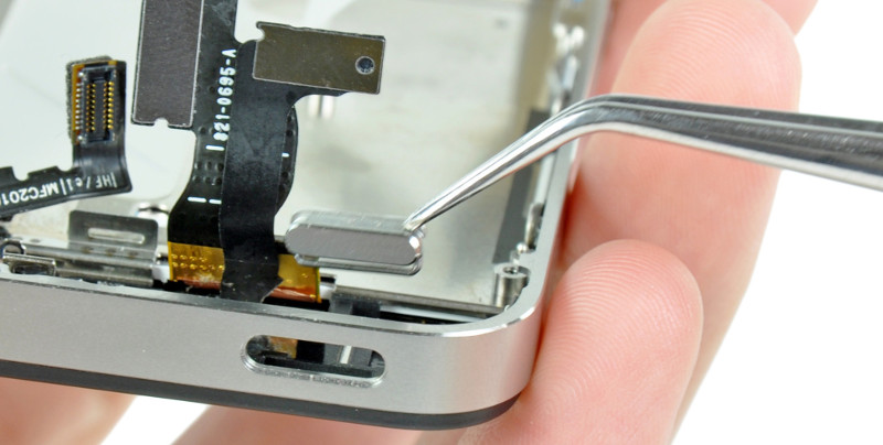 iphone power knop reparatie in amsterdam