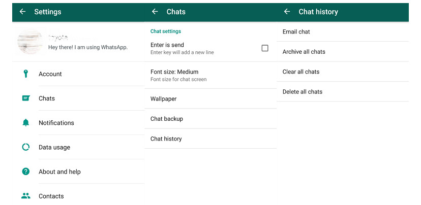 whatsapp email chat